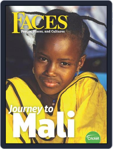 Faces People, Places, and World Culture for Kids and Children March 1st, 2020 Digital Back Issue Cover