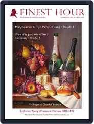 Finest Hour (Digital) Subscription July 25th, 2014 Issue