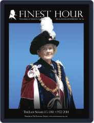 Finest Hour (Digital) Subscription October 10th, 2014 Issue