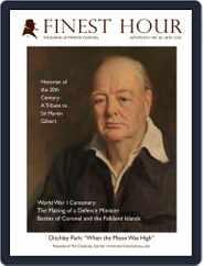 Finest Hour (Digital) Subscription December 1st, 2014 Issue