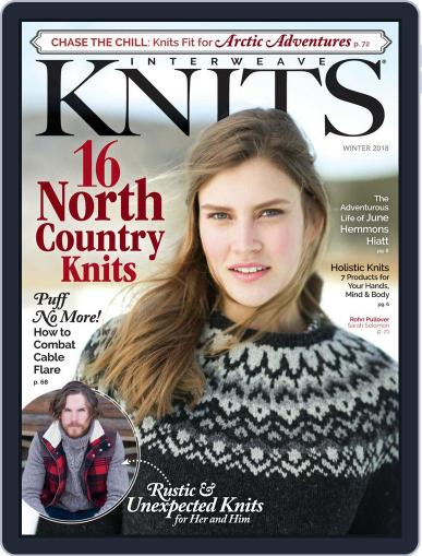 Interweave Knits October 27th, 2017 Digital Back Issue Cover