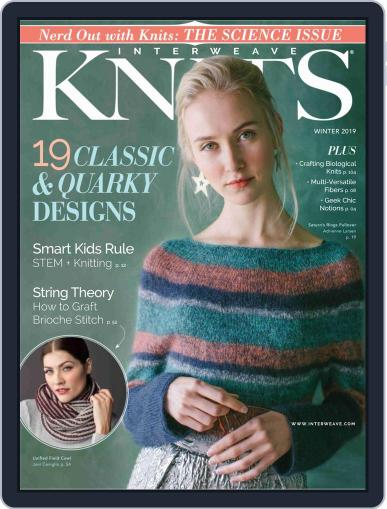Interweave Knits October 26th, 2018 Digital Back Issue Cover
