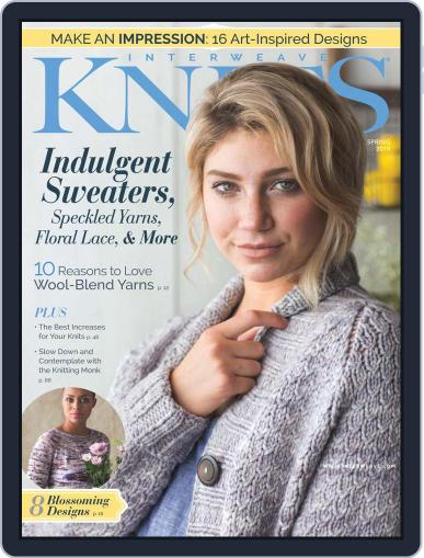 Interweave Knits January 17th, 2019 Digital Back Issue Cover