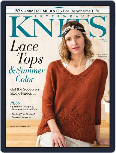 Interweave Knits April 18th, 2019 Digital Back Issue Cover