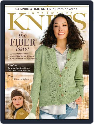 Interweave Knits March 1st, 2020 Digital Back Issue Cover