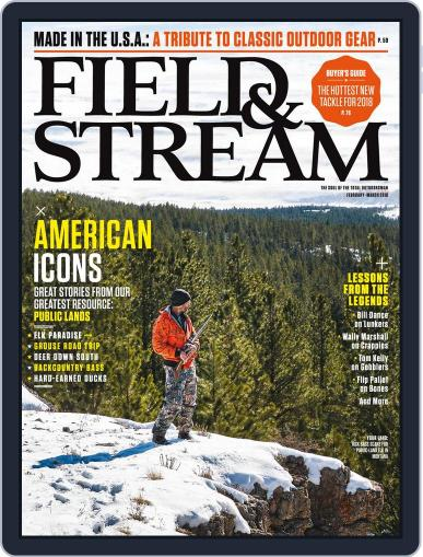Field & Stream February 1st, 2018 Digital Back Issue Cover