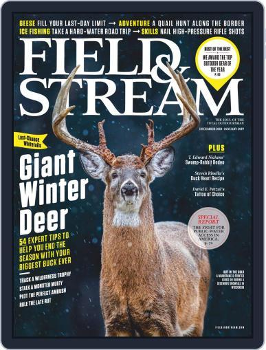 Field & Stream December 1st, 2018 Digital Back Issue Cover