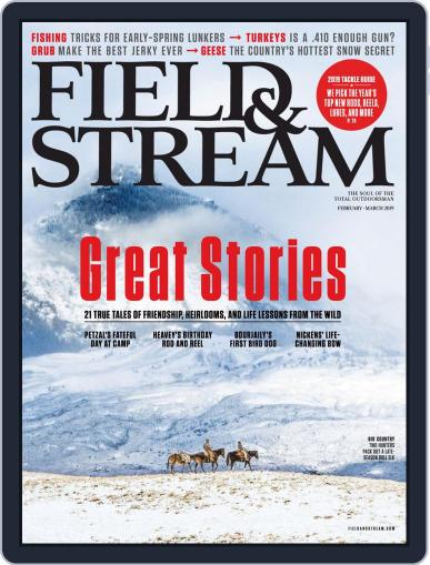 Field & Stream February 1st, 2019 Digital Back Issue Cover