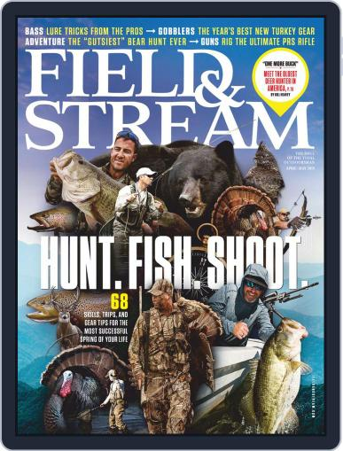 Field & Stream March 11th, 2019 Digital Back Issue Cover