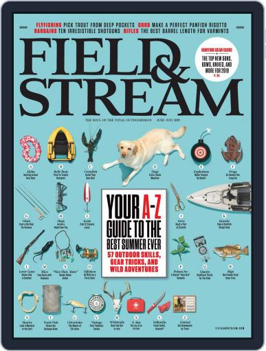 Field & Stream June 1st, 2019 Digital Back Issue Cover