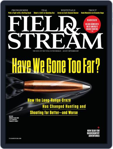Field & Stream August 1st, 2019 Digital Back Issue Cover