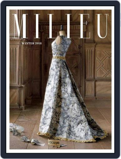 MILIEU January 1st, 2018 Digital Back Issue Cover
