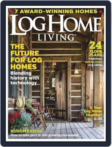 Log Home Living March 1st, 2019 Digital Back Issue Cover