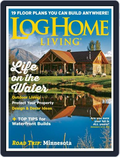 Log Home Living August 1st, 2019 Digital Back Issue Cover