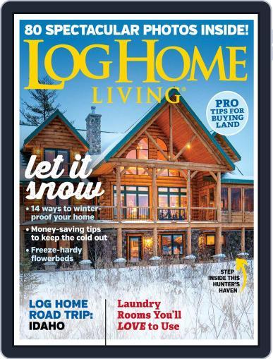 Log Home Living November 1st, 2019 Digital Back Issue Cover