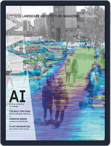 Landscape Architecture February 1st, 2019 Digital Back Issue Cover