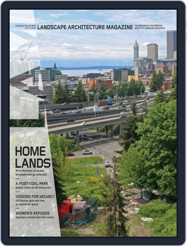 Landscape Architecture August 1st, 2019 Digital Back Issue Cover
