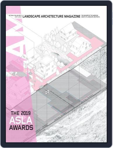 Landscape Architecture October 1st, 2019 Digital Back Issue Cover