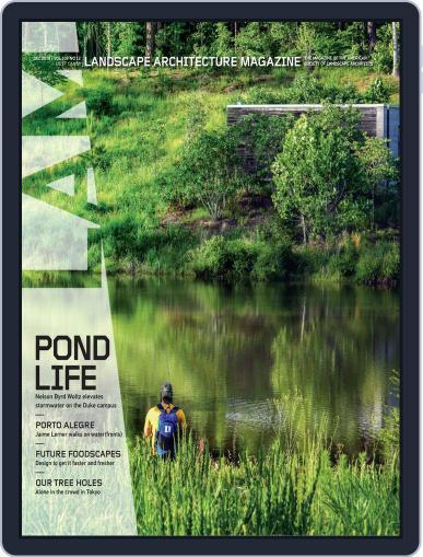 Landscape Architecture December 1st, 2019 Digital Back Issue Cover