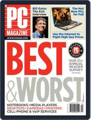 Pc (Digital) Subscription August 8th, 2008 Issue