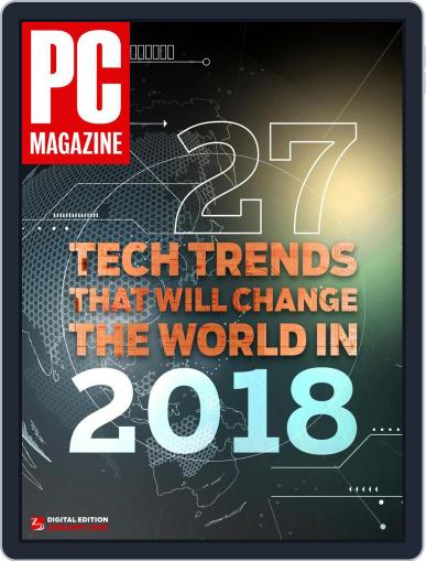 Pc January 1st, 2018 Digital Back Issue Cover