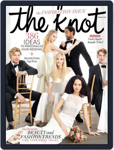 The Knot Weddings January 1st, 2017 Digital Back Issue Cover