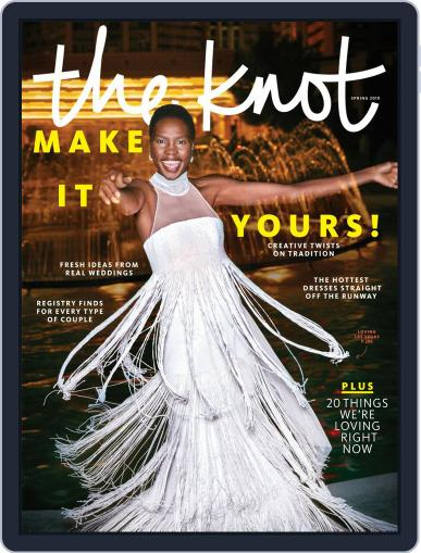 The Knot Weddings January 14th, 2019 Digital Back Issue Cover