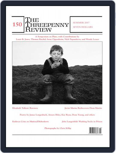The Threepenny Review August 1st, 2017 Digital Back Issue Cover