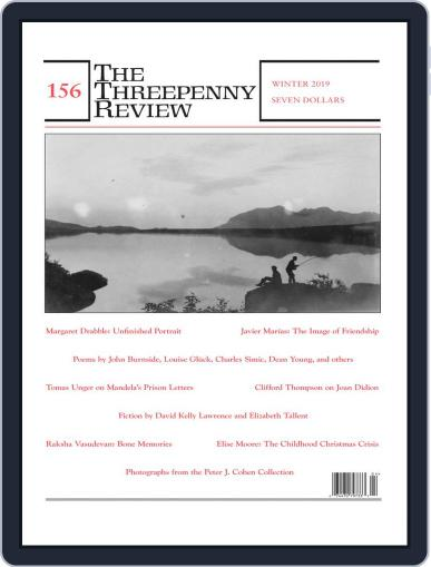 The Threepenny Review January 1st, 2019 Digital Back Issue Cover
