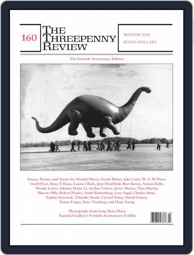 The Threepenny Review November 1st, 2019 Digital Back Issue Cover