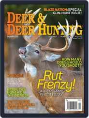 Deer & Deer Hunting (Digital) Subscription December 1st, 2015 Issue