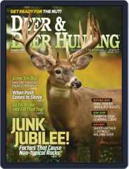 Deer & Deer Hunting (Digital) Subscription October 1st, 2016 Issue