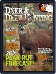 Deer & Deer Hunting (Digital) Subscription November 1st, 2016 Issue