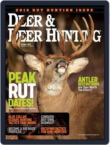Deer & Deer Hunting October 1st, 2018 Digital Back Issue Cover