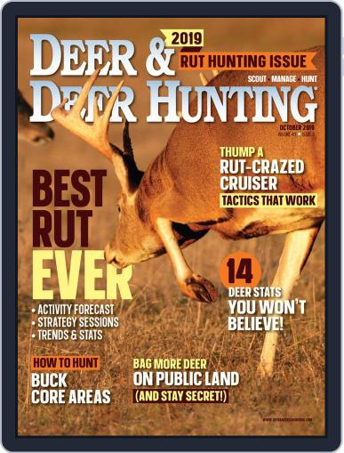 Deer & Deer Hunting October 1st, 2019 Digital Back Issue Cover