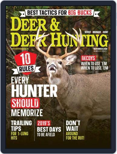 Deer & Deer Hunting November 1st, 2019 Digital Back Issue Cover