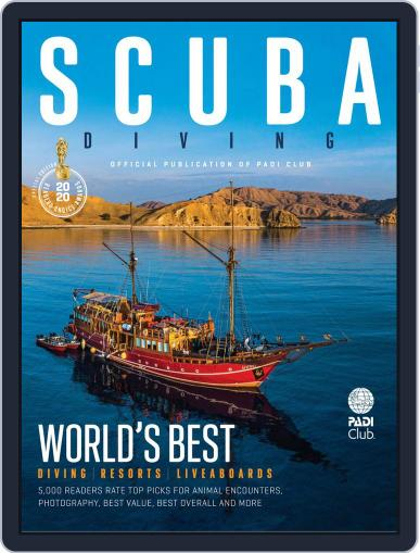 Scuba Diving October 23rd, 2019 Digital Back Issue Cover