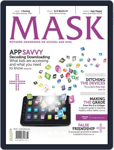 Mask The November 8th, 2018 Digital Back Issue Cover