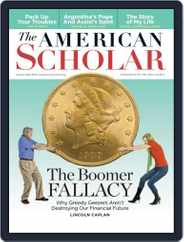 The American Scholar (Digital) Subscription June 6th, 2014 Issue