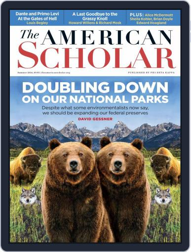 The American Scholar June 6th, 2016 Digital Back Issue Cover