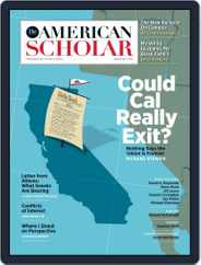 The American Scholar (Digital) Subscription March 1st, 2017 Issue