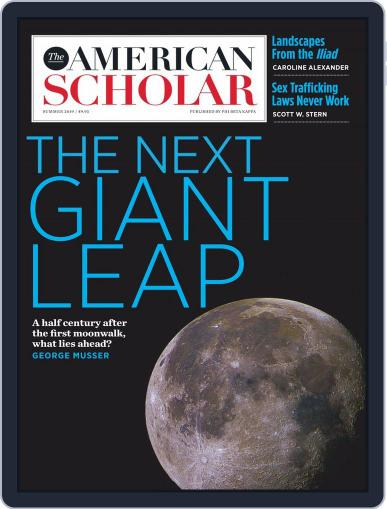 The American Scholar June 1st, 2019 Digital Back Issue Cover