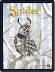 Spider Magazine Stories, Games, Activites And Puzzles For Children And Kids (Digital) Subscription November 1st, 2017 Issue