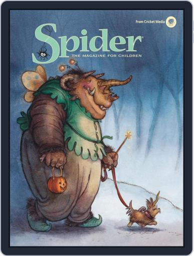 Spider Magazine Stories, Games, Activites And Puzzles For Children And Kids October 1st, 2018 Digital Back Issue Cover