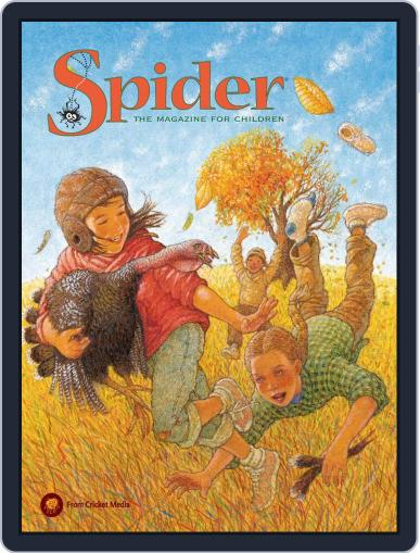 Spider Magazine Stories, Games, Activites And Puzzles For Children And Kids November 1st, 2018 Digital Back Issue Cover