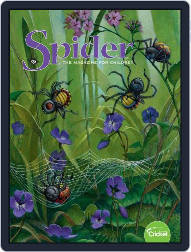 Spider Magazine Stories, Games, Activites And Puzzles For Children And Kids September 1st, 2019 Digital Back Issue Cover