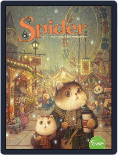 Spider Magazine Stories, Games, Activites And Puzzles For Children And Kids November 1st, 2019 Digital Back Issue Cover