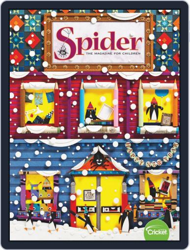 Spider Magazine Stories, Games, Activites And Puzzles For Children And Kids January 1st, 2020 Digital Back Issue Cover