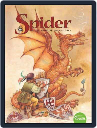 Spider Magazine Stories, Games, Activites And Puzzles For Children And Kids February 1st, 2020 Digital Back Issue Cover