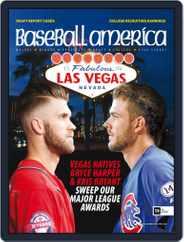 Baseball America (Digital) Subscription October 23rd, 2015 Issue